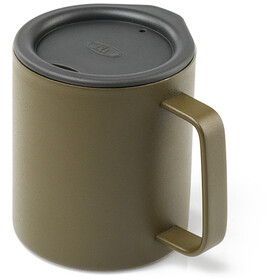 GSI Glacier Stainless 10 Fluid Ounce Tasse de camping 296ml, olive